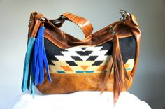 NEW///LAVINIA in Oregon Wool and Brown Leather by arebycdesign, $174.00