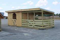 Goat Sheds - Mini Barns and Shed Construction - Millersburg Ohio Mini Horse Barn, Small Horse Barns, Horse Barn Plans, Mini Barn, Goat Shelter, Horse Shelter, Cabras Boer, Goat Shed, Barn Layout