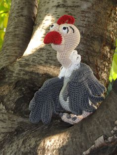 Amigurumi Crochet Pattern - Buzzie the Vulture