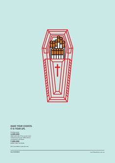 Infographics - Fume Leads To Death by Heng Chun Liow, via Behance imagine if it is a packaging design Graphic Design Tips, Graphic Design Posters, Graphic Design Typography, Graphic Design Inspiration, Print Design, Information Design, Information Graphics, Visual Metaphor, Design Graphique
