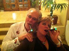 Celebrating with Friends, Family and Antonio Villard E Cigars!
