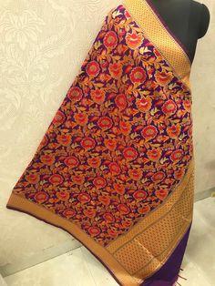 "Price:- Rs 810 + SHIP FREE MULTI COLOR BANARASI SILK DUPATTA FUSION 2021 Dupatta Fabric details: Pure banarasi Patola silk jacquard dupatta multi-color wiving dupatta with Resham handmade tread less cute 2.50 Full (wd 44"") #gfseries Silk Dupatta, 100 Pure, Shawls, Ship, Pure Products, Stylish, Cute, Fabric, Handmade"