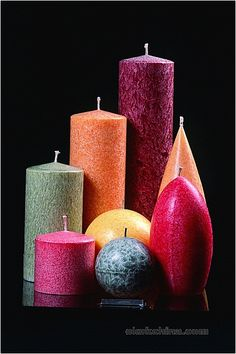 Round Elipticle Palm-Wax Candles Wholesale from Alene?