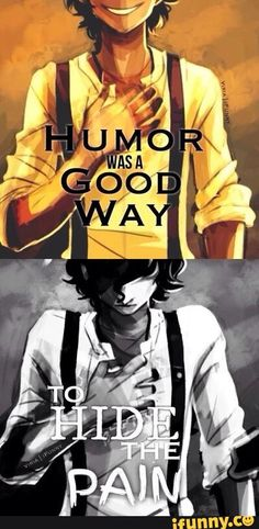 Humor was a good way to hide the pain. - Leo Valdez The funny at the end is so inappropriate!
