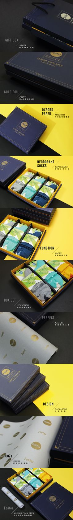 Footer / Gift Box Set / Packaging Design