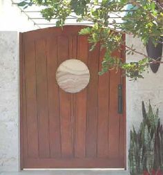 1000 images about puertas de exterior on pinterest for Puerta jardin madera