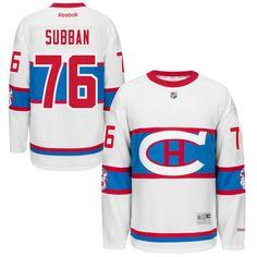 canadiens pk subban white 2016 winter classic jersey