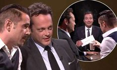 Colin Farrell and Vince Vaughn play revealing game with Jimmy Fallon
