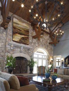 Interior Shot Of Mendham NJ Home Built By Porraro Homes Inc