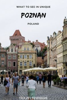 What to See in the Unique City of Poznan, Poland - Travelsewhere - What to See in Poznan, a city of eclectic history, architecture and culture in Poland via Travelsew - Backpacking Europe, Europe Travel Guide, Travel Guides, Danzig, Europe Destinations, Holiday Destinations, Ukraine, Poland Travel, Travel Netherlands