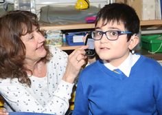 Music therapy keeps hearing impaired kids on beat