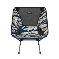 Big Agnes Helinox Chair One Camp Chair Blue Tiger Camo