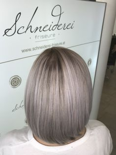 Ice blond hair color with a little purple Ice Blonde, Blonde Hair, Hair Color, Long Hair Styles, Purple, Beauty, Shaving Machine, Barber Salon, Hair Stylists