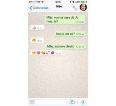 10 tipos de conversas ~doidas~ com os pais pelo WhatsApp - Você - CAPRICHO
