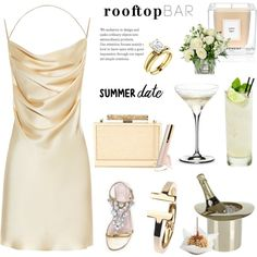 A fashion look from June 2016 featuring Yves Saint Laurent dresses, Kate Spade sandals and Monique Lhuillier clutches. Browse and shop related looks.