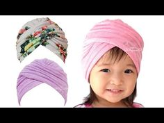 Learn how to make this easy criss-cross turban hat baby, newborn baby turban hat, turban hat for babies, turban hat for ladies, using my turban hat sewing pa. Baby Turban, Turban Hut, Mode Turban, Turban Style, Turban Headband Tutorial, Hat Tutorial, Twist Headband, Diy Headband, Diy Baby Headbands