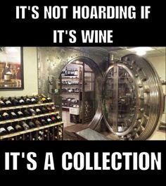 It's not hoarding