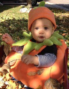 Pumpkin costume - baby