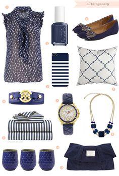 navy blue pieces