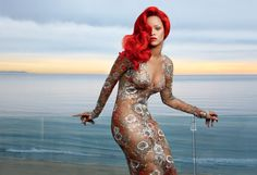 Rihanna - Photographed by Annie Leibovitz, Vogue, February 2014