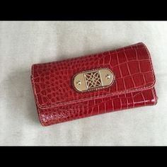 Red Wallet Red wallet in decent condition 😊 Bags Wallets