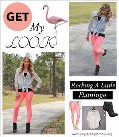Rocking  A Little Flamingo