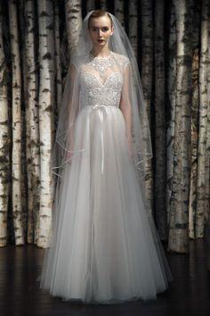 Chic Trends: Tendências para vestidos de noiva da Temporada Bridal Spring 2015! #noiva #vestido #trends #casamento #NaeemKhan