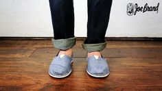 Toms for Him  At Joe Brand