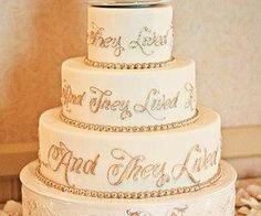 #weddingcake #happilyeverafter