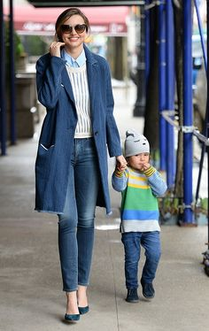 NO JUST JARED USAGE Miranda Kerr and Flynn out and about in NYC.***NO DAILY MAIL SALES*** Pictured: Miranda Kerr and Flynn Bloom