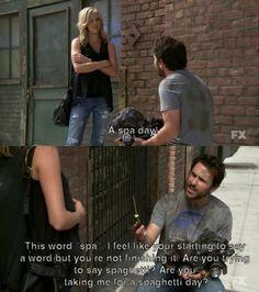 I love Charlie.