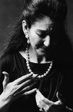 """How many other artists since Callas have you heard and thought, """"She sang gorgeously, but I never cried?"""" ~ Martina Arroyo"""