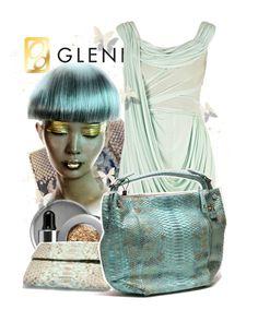 """Luxury Summer with Gleni Boutique"" by keti-lady ❤ liked on Polyvore featuring Zac Posen, Stila, gleni and gleniboutique"