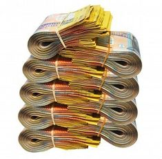 Australian dollar Money comes easily and frequently