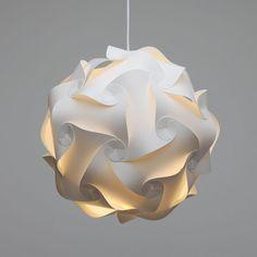 lamp shade / ceiling light / pendant / danish IQ modern minimalist design retro/deco (M/35cm) on Etsy, $23.13