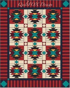 Southwest Style Quilt | Craftsy