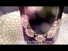 """Premier Designs Jewelry by Julie Tussey-YouTube """"Sway"""" Necklace!  💞💞"""