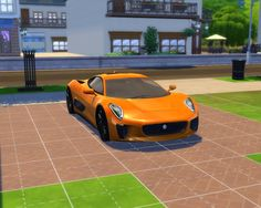 Ferrari 488 GTB  It comes in 6 colors: Red, Yellow, Blue, White, Grey and Black and it costs 187449 simoleons.  Credits: Original model and textures made by Boss Alien Model ripped by DMN  Update: