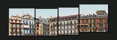 Fachadas en la plaza del Castillo 3/4 [06.2012]