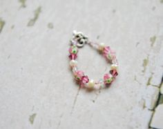 Beautiful handmade baby and toddler bracelets. by BellissimoBebe