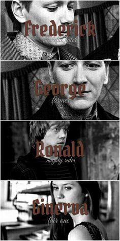 The Weasleys #harrypotter #ronweasley #ginnyweasley