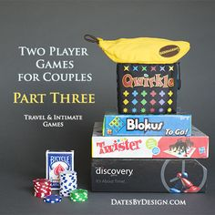 Fun 2 person games for couples
