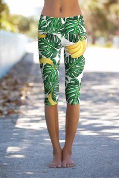 Green Unicorn Damen Sporthosen Yogahosen Lange Sport Leggings Mesh