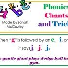Phonics is such an important part of reading and spelling. Here are 13 easy to read chants and tricks that are used to help students learn to read. $