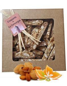 http://www.chez-damaselles.com les CROQUANTS DE LA CANOURGUE (Lozère - France) sont issus d'une recette familiale provençale, et sont désormais fabriqués en Lozère. Avec de savoureuses amandes et leur saveur fleur d'oranger, ils sont uniques. En vente...