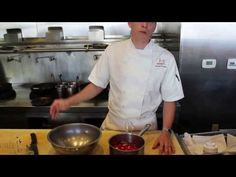 Malai Chef and owner Brandon Wages shows how to make sriracha sauce in your own kitchen.