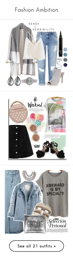 """""""Fashion Ambition"""" by renae-perrie-edwards ❤ liked on Polyvore featuring Miss Selfridge, New Look, Terre Mère, Olivia Burton, Larkspur & Hawk, House of Holland, polyvoreeditorial, Poyvore, zaful and TravelSmith"""