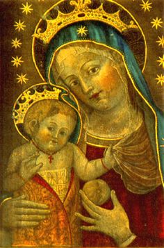 It's About Time: Madonna by Catherine de Vigri (1413-1463) or St. Catherine of Bologna,