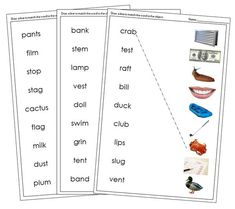 Step 2: Word Phonetic Sounds, Blue Words, Montessori Classroom, Word Pictures, Curriculum, Language, Letters, Photos, Resume