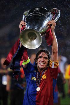 Carles Puyol, born 13 April 1978, Spanish defender (mainly central defender), FC Barcelona (1999-2014)